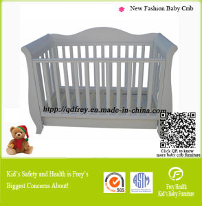 Convertible Baby Crib with Changing Table