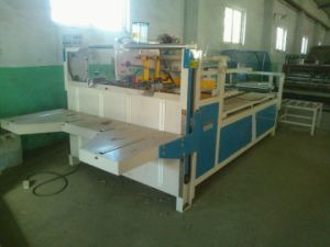 Semiautomatic Carton Box Folder Glue Machine pictures & photos