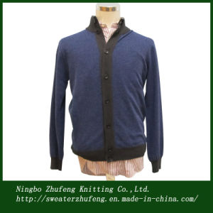 Men′s Fashion Cardigan Sweater 2013 Nbzf0038