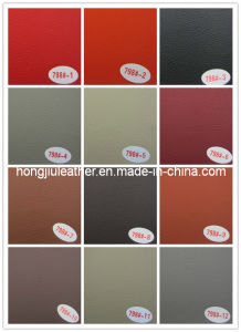 High Abrasion-Resistance PVC Car Leather (798#) pictures & photos