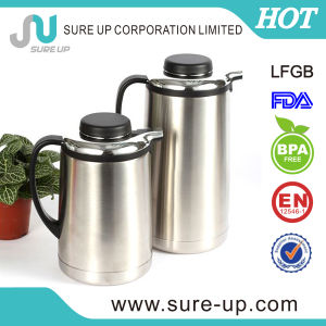 High Quality Double Wall Stainless Steel Coffee Pot /Water Jug for Drinkware (JSUD) pictures & photos