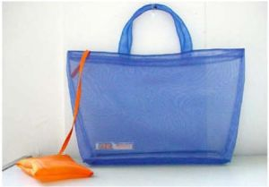 Ladies Summer Mesh Beach Handle Bags pictures & photos
