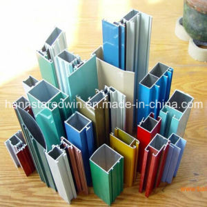 Aluminum Profile, Powder-Coated, for Windows and Doors, Made of 6063 pictures & photos
