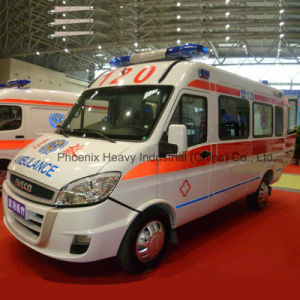 2WD Diesel Engine Iveco Ambulance with Middle Roof pictures & photos