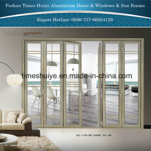 2 Panels to 8 Panels Aluminium Folding Door with Colour pictures & photos