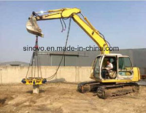 SPA6 hydraulic concrete round square pile breaker pictures & photos