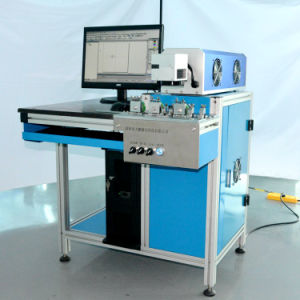 Maxphontonics 20 Watt Fiber Laser Type Marking and Engraving Machine of Diodes pictures & photos