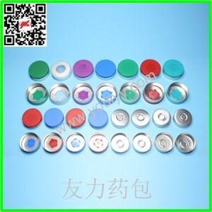 Green Blue Purple Aluminum Cap pictures & photos