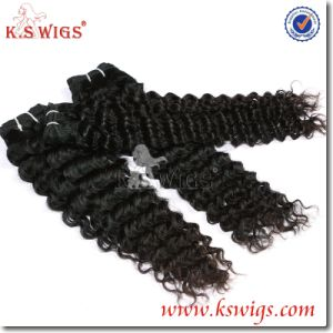 100% Virgin Brazilian Human Hair Extension pictures & photos