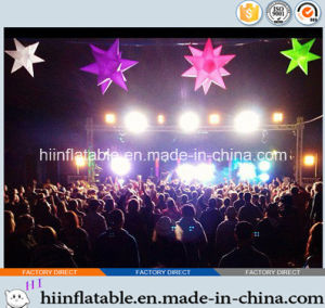 2015 Hot Selling LED Lighting Party/Catering Decoration Inflatable Star 0005