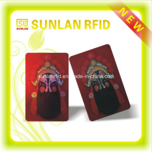 Newest Design Hard Plastic 3D Cards for Payment/ Shopping/ Toll Collection pictures & photos