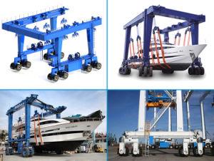 Marine Yard Boat Lifting Gantry Crane pictures & photos