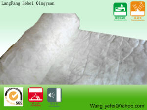 White Environmental Protection Insulation Glass Wool Felt