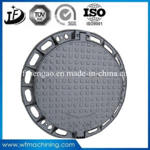 Ductile/Wrought Iron Sand Casting Lockable/Waterproof/Sealed Manhole Cover for Sewer Drain pictures & photos