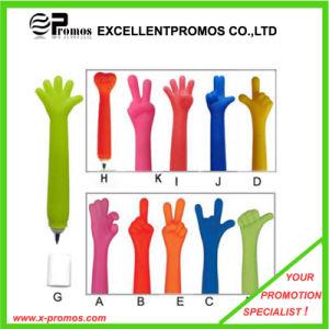 Promotion Advertisement Big Hand Finger Shape Plastic Ball Pen (EP-6-A-G) pictures & photos