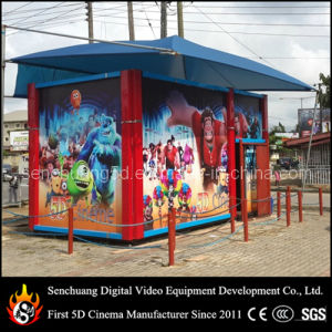 Fashion Design 5D Cabin with Amazing 5D Movies