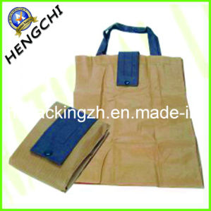 Folding Bag with Canvans, Non Woven or Oxford pictures & photos
