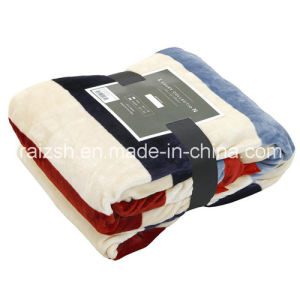 380GSM Thicker Flannel Blankets Sheets for Gift pictures & photos