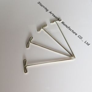 Nickle Plated Steel Metal T Bar Head Dissection Blocking Pin pictures & photos