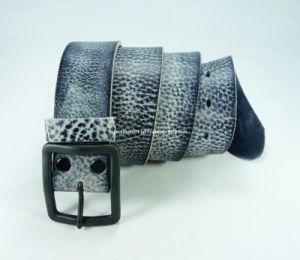 High-Quality Men′s Belt of Full Grain Leather (EUBL0261-40)