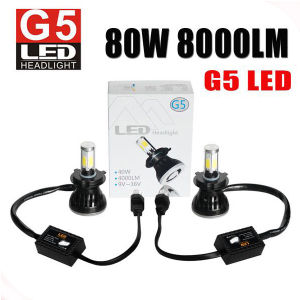 4 Sides COB Chips Manufacture Price 8000lm Motorcycle LED Headlight pictures & photos