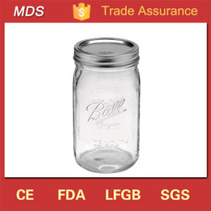 Wholesale Best Quality 32oz Glass Ball Mason Jar for Gift pictures & photos