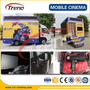 China Professional Truck Mobile 5D 7D Cinema Equipment pictures & photos