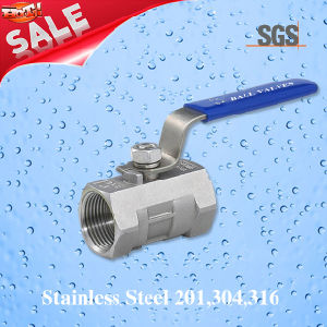 1PC Female Threaded Ball Valve, Stainless Steel 201, 304, 316 Valve, Dn15 Q11f Ball Valve pictures & photos