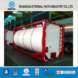40ft 20ft Liquid Gas Storage Used ISO Tank Container (SEFIC-T11/T41/T50/T75) pictures & photos