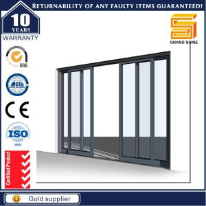 Aluminium Sliding Security Door with Stainless Metal Steel Mesh pictures & photos