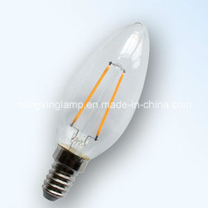 LED Filament Candle Light Bulb China pictures & photos