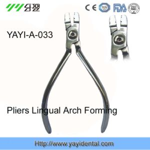 Black Orthodontic Plier - Lingual Arch Forming Plier (A-033) pictures & photos