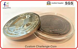 Antique Brass Plated Die Struck Challenge Coins pictures & photos