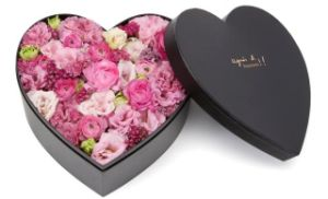 Black Heart Shape Flower Box/ Packing Box / Gift Box