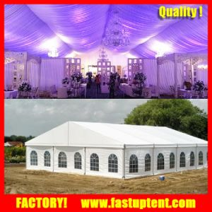 Lining and Curtain for Exhibition Event Wedding Party Marquee Tent pictures & photos