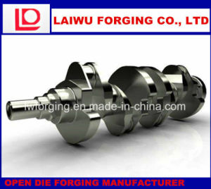 Heavy Forging Crankshaft Open Die Forging with ISO9001 pictures & photos