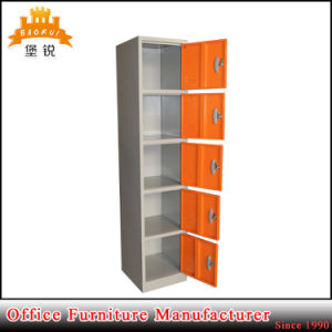5 Doors Steel Student Staff Labour Clothing Storage Metal Cabinets Locker pictures & photos