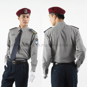Security Uniform for Man (SEU11) pictures & photos