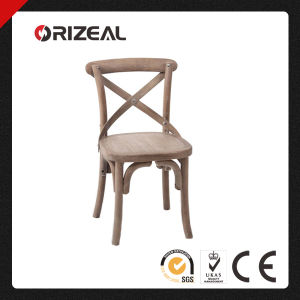 Cross Back Honey Timber Dining Chair (OZ-SW-039) pictures & photos