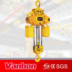10t Electric Chain Hoist Fixed with Hook pictures & photos