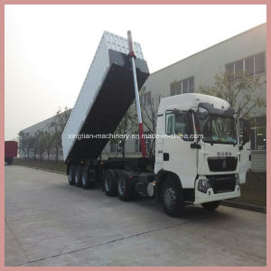 Front-End Telescopic Hydraulic Cylinder for Dump Truck pictures & photos