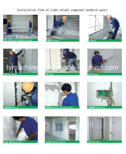 Lightweight EPS Wall Panel Forming Machine/Concrete Wall Panel Making Machine pictures & photos