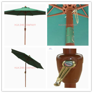 Hz-Um117 9ft (2.7m) Crank Umbrella with Tilt Patio Umbrella Sunshade Umbrella Garden Umbrella Outdoor Umbrella Cheap Umbrella pictures & photos