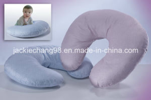 100% Polyester Micro Mink Nuring Pillow pictures & photos