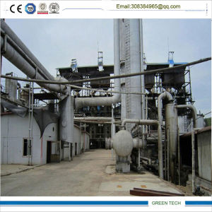 Negative Pressure Used Engine Oil Refining Oil Distillation Plant 15tpd pictures & photos