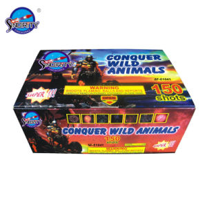 """150 Shots 1"""" Color Box Pyrotechnic Cake Fireworks pictures & photos"""
