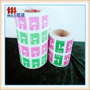 Metalized Paper Aluminium Paper for Alcohol Swab pictures & photos
