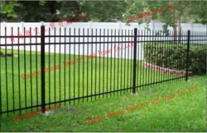 Decorative Residential/Commercial High Quality Wrought Iron Swimming Pool Fence Fencing pictures & photos