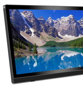 "32"" LCD Digital Photo Frame with USB, LCD Advertising Player Plastic Monitor pictures & photos"