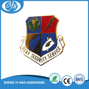 Creative Design 3′′ Zinc Alloy Hard Enamel Badge pictures & photos